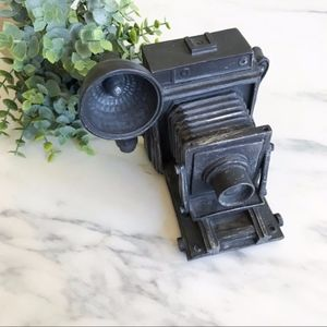 Vintage Looking Camera Piggy Bank